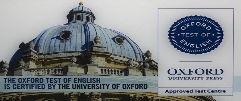 Próxima Convocatoria 06/06/19 – Centro Examinador del «OXFORD TEST»