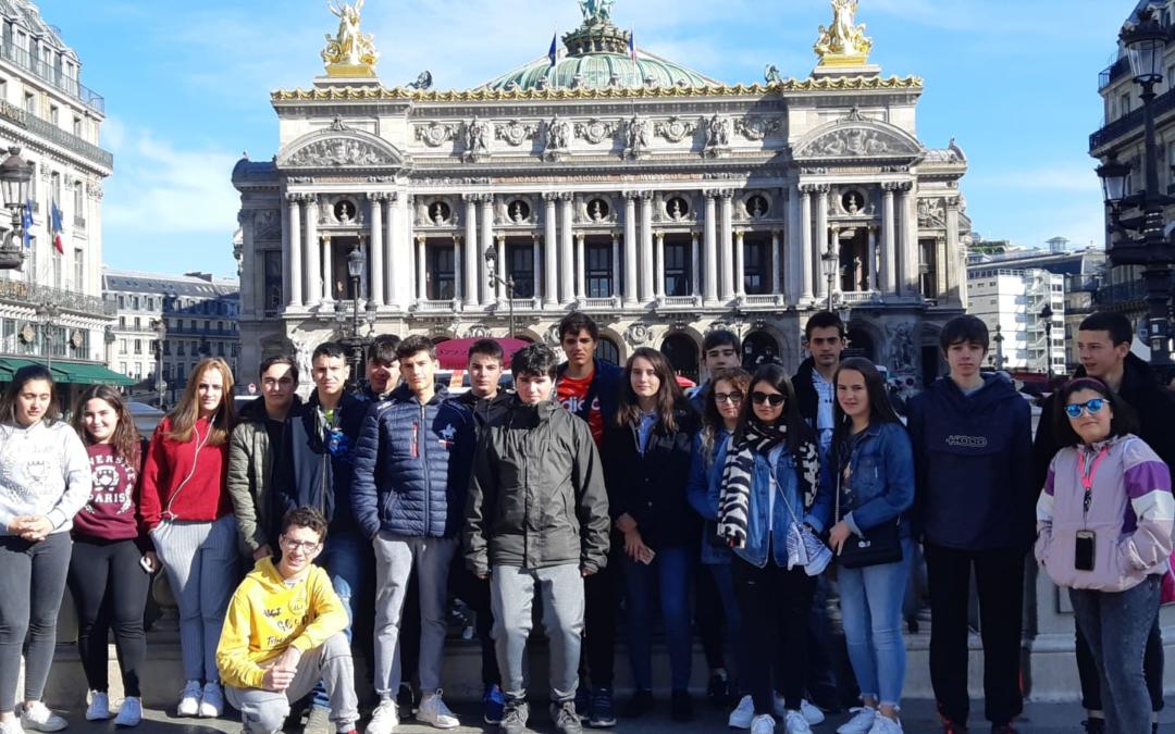 «Un Paris plein de sourires». Crónica del viaje a París.