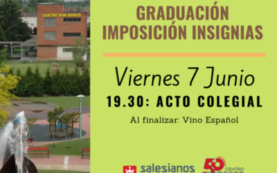 Graduación e Imposición de Insignias titulados en ESO, FP Básica y Ciclos F.