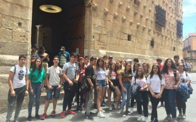 El alumnado de la ESO visita Salamanca