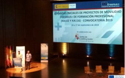 Jornadas KA102 Erasmus+ Proyectos Europeos